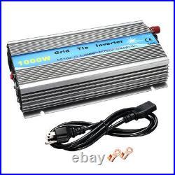 230V 1000W Grid Tie Inverter MPPT Pure Sine Wave Inverter Solar Panel New