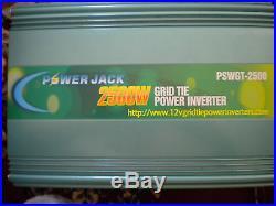 2500 Watt Grid Tie Inverter 14-28 DC Input 110 -120 AC