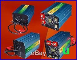2500W Grid Tie Inverter 28-48V DC/110V AC With MPPT Charger For 24V Solar Panel