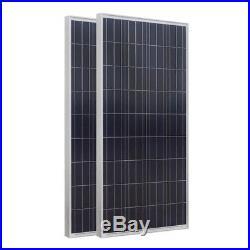 2KW Home Power Solar System 12x 150W Solar Panel & 2000W Grid Tie Inverter 220V