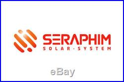 3.4 KW Micro Inverter Grid Tie Solar Panel System Seraphim Solar Enphase IQ7+