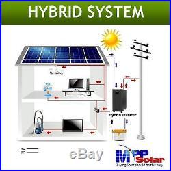 3 Phase 6000w 48vdc Hybrid Solar inverter grid tie + off grid PV input 450vdc