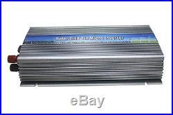 300-1000W solar grid tie inverter, 10.5-28V DC, 120/230 AC, pure sine wave, mppt