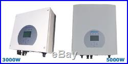 3000W 5000W String Solar Power on Grid Tie Inverter with Limiter PV Connected