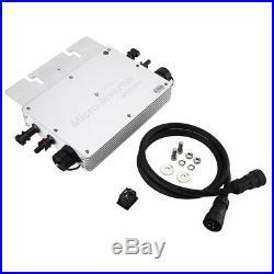 300W 600W 1200W MPPT Micro Grid on Inverter Waterproof Solar Inverter Wireless