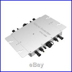 300W 600W 1200W Solar Grid Tie Inverter DC22-50V to AC230V MPPT Micro Waterproof