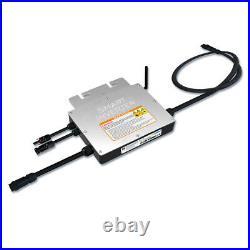 300W 600W Solar Grid Tie Inverter MPPT Pure Sine Wave DC18-50V For 36V PV Panel