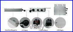 300W Waterproof Grid Tie Inverter DC22-50V for 36V Solar Panel Micro Inverter CE