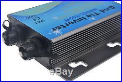 300W Waterproof Grid Tie Inverter DC24V-45V to AC220V Pure Sine Wave Inverter CE