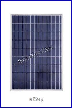 300W Watt 3100 W Solar Panel Grid Tie Complete Kit With 500W 12-120V Inverter