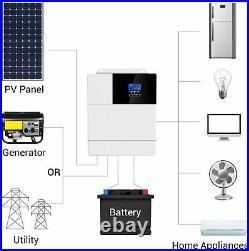 3500W Hybrid Solar Inverter DC48V AC110V Built-In 80A MPPT Charge Controller