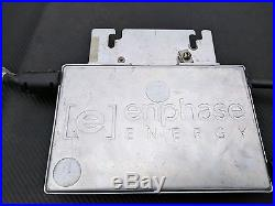 (4) Enphase M210-84-240-S12 Grid Tie Solar Micro Inverter 240V QTY (4)