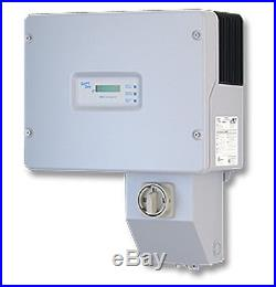 4 count SMA DC Disconnect and Combiner Box for Solar Electric Grid Tie Inverter