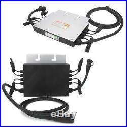 4 x 350W Watt Solar Micro Grid Tie Power Inverter 120V 230V for Solar Panel
