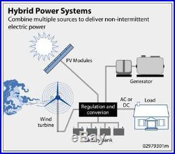 400W 1200W Wind Turbine Generator + 1000W DC 22V-65V Wind Grid Tie Inverter Home