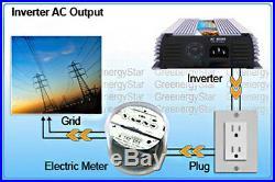 400w Grid Power Micro Grid Tie Inverter For Solar Wind