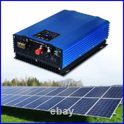 48V Grid Tie Inverter Charger MPPT Pure Sine Wave Home System 1200W