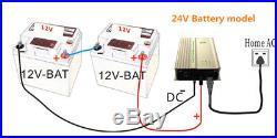 48V MPPT Grid Tie battery Inverter Solar Wechselrichter BHKW Windrad Solar 300w