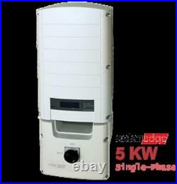 5,000 Watt SolarEdge Grid Tie Inverter with Safety Switch-Used
