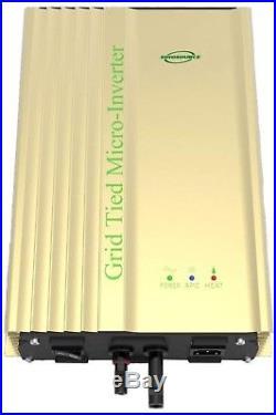 500 Watt Inverter 48v Battery High Efficiency Grid Tie Micro For Solar Panels