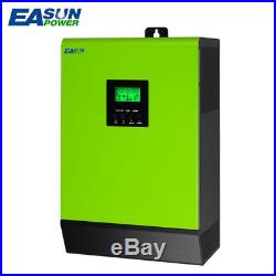 5000W 48Vdc Grid Tie Inverter 2 MPPT 220V 120A Hybrid Solar Inverter Max Solar