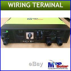 5500w Hybrid Solar inverter 48v 230vac PV input 500v Grid tied solar off grid