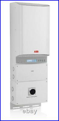 6,000 Watt ABB Grid Tie Inverter with Safety Switch-Used