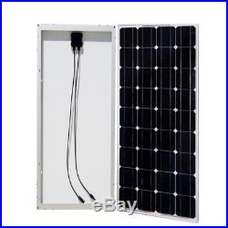 600 Watt Grid Tied Solar System with 600 Watt 22-60VDC Inverter Home Garden Roof