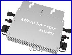 600 Watt grid tie micro inverter DC 22V-50V Solar Power Inverter IP65 50Hz/60Hz