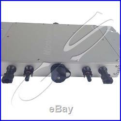 600W 1200W Grid Tie Inverter Solar MPPT Micro Inverter With Matching Modem