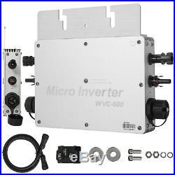 600W 220V MPPT Solar Grid Tie Micro inverter costs low lightweight Full Parts