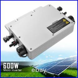 600W 230V Micro Inverter Power MPPT Grid Tie Pure Sine Wave Waterproof HS1347