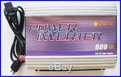 600W 600 WATT GRID TIE INVERTER ACCEPT 10.8V-30 VDC/120VAC, pure sine wave