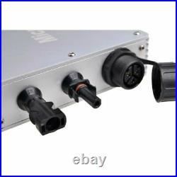 600W Grid Tie Inverter DC22-50V to AC110V/220V MPPT Pure Sine Wave Inverte IP65