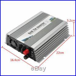 600W Grid Tie Inverter DC22-60V to AC230V MPPT Pure Sine Wave Inverter EU Plug