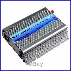 600W Grid Tie Inverter Stackable MPPT DC22-60V to AC110V Pure Sine Wave Inverter