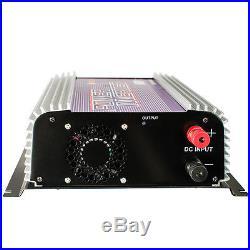 600W MICRO GRID TIE POWER INVERTER Solar Panel DC 22V-60V to AC 110v/120V
