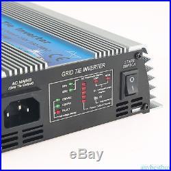 600W MPPT Grid Tie Inverter DC22V-60V to AC 220V Solar Inverter Pure Sine Wave