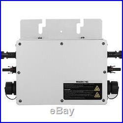 600W MPPT Grid Tie Micro Solar Inverter 110V/220V Simplify Waterproof DC to AC