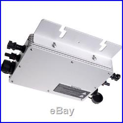 600W MPPT Micro Grid Tie Inverter DC22-50V to AC110/220V Pure Sine Wave Inverter