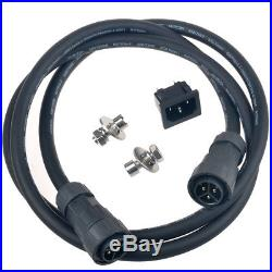 600W MPPT Waterproof Grid Tie Inverter DC22-50V to AC110/220V Micro Inverter