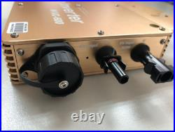 600W Solar Photovoltaic Grid Tie Inverter AC110V DC22-50V IP67 Waterproof LED