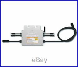 600W Waterproof Grid Tie Inverter MPPT DC18-50V Solar Pure Sine Wave Inverter