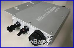 600W micro solar grid tie inverter DC22-50v AC110v Communication solar inverter