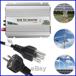 600w 2260v Solar Grid Tie Microinverter Inverter Mppt Pure Sine Wave 120v230v