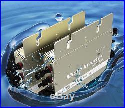 600w Grid Tie Solar Inverter Power Line Communication, mppt pure sine wave
