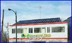 650 W 12V Wind Generator +1000 W Controller + 600 W Inverter +100 W Solar Panel