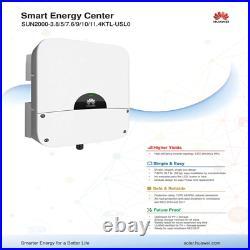 7.6 KW Huawei Solar Inverter- SUN2000-7.6KTL-USL0 7600W 240V Battery Compatible