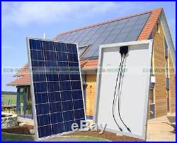 800W 24V Grid Tie Kit 8100W Solar Panel with1200W Waterproof Inverter Home Power