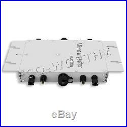800W 24V Grid Tie System Kit 8100W Solar Panel with 1200W Waterproof Inverter